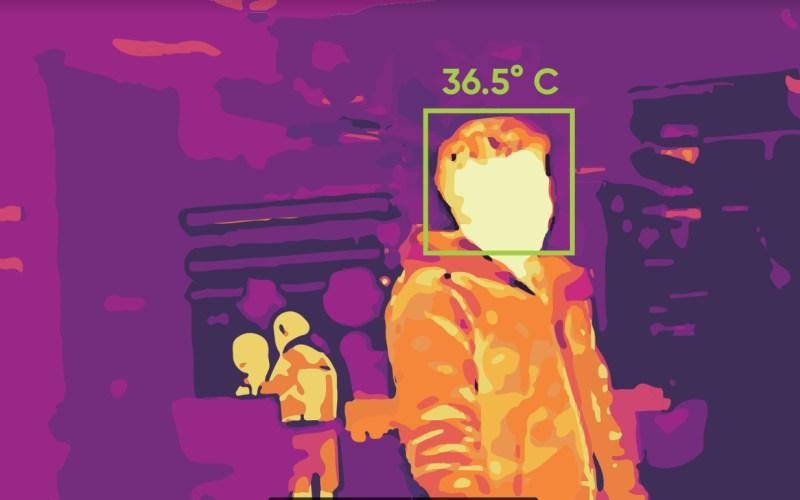 Hromadne meranie telesnej teploty